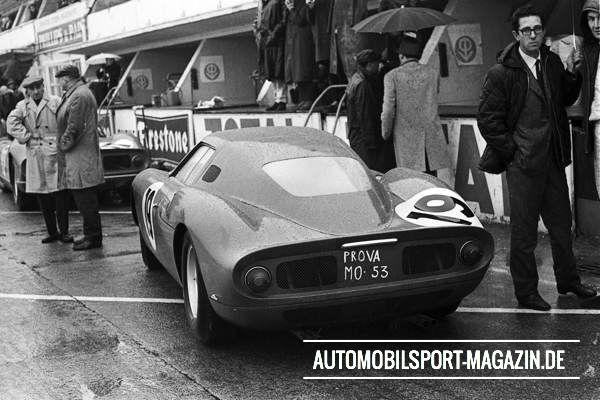 1964 1 Forghieri-Ferrari-250LM 64 LeMans-Test 01
