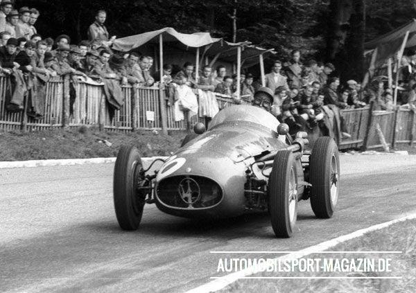 1954-Maserati 250F Mieres Bern SwissGP 1954