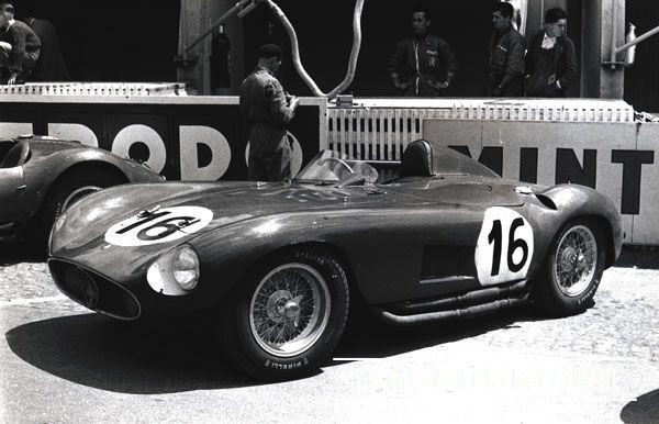 1955-Maserati 300S 1955 LeMans