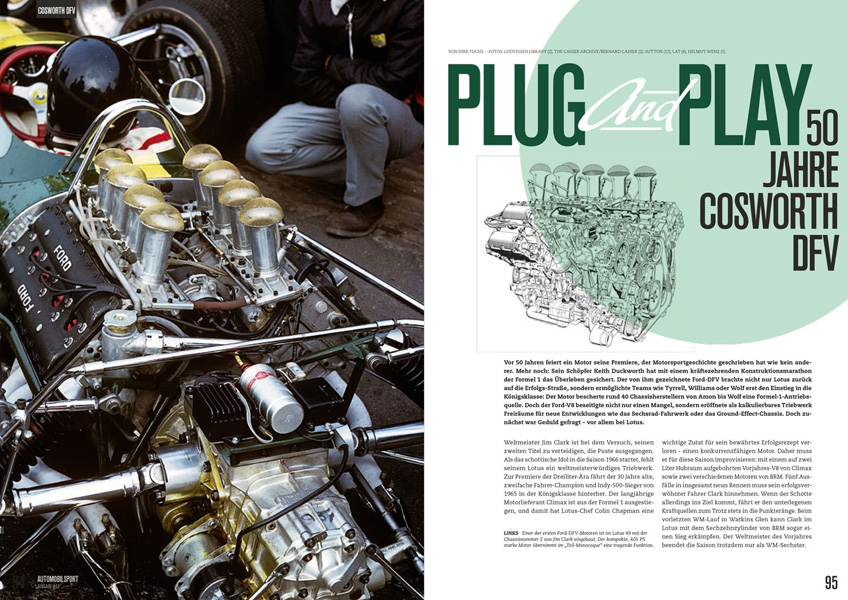 ISSUE #13 - AUTOMOBILSPORT Magazine - Racing / History / Passion